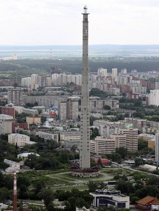 В здание планировали перенести городские телерадиопередающие мощности и покрыть телесигнал Свердловс