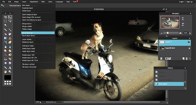 © pixlr.com  Хороший онлайн-редактор, поинтерфейсу инекоторым возможностям напоминающий Phot