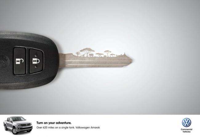 © Volkswagen   McDonald's сообщает: все только натуральное
