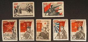 1938 г. 20-летие Красной Армии и Военно-Морского флота