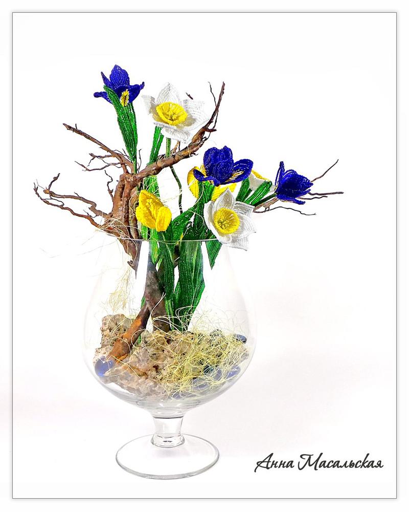 cvety iz bisera