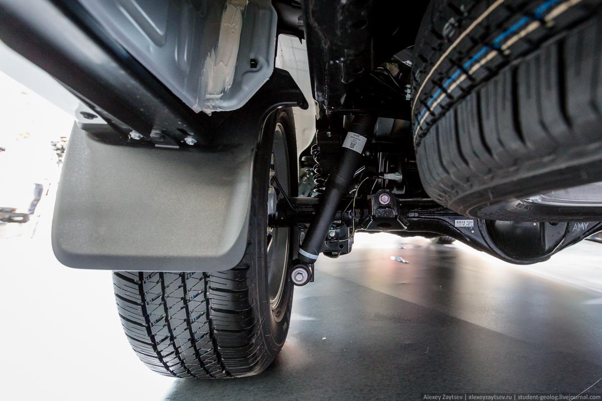 Toyota Fortuner подвеска