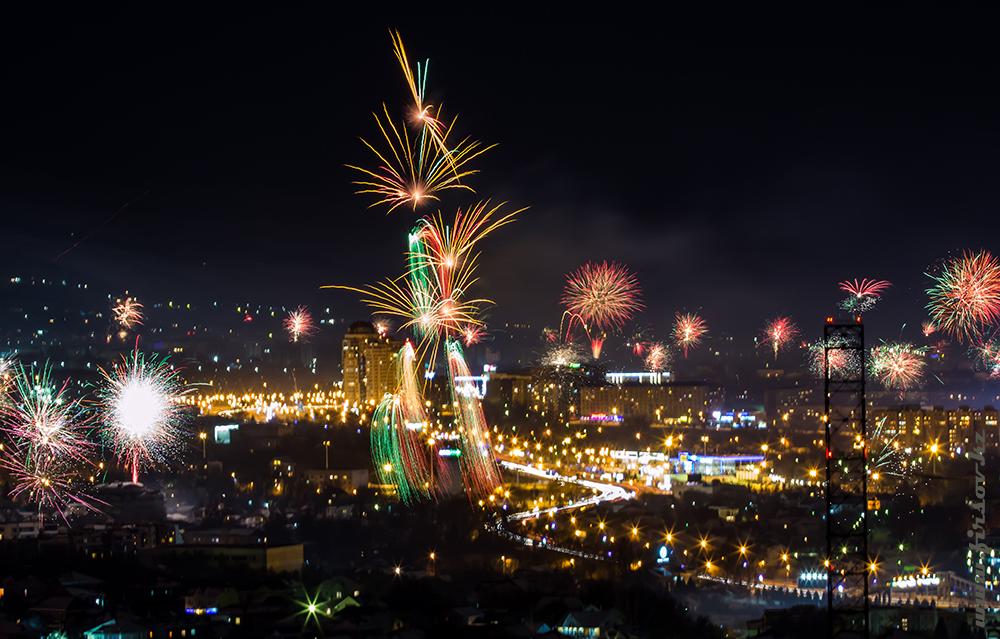 Первые минуты Нового года