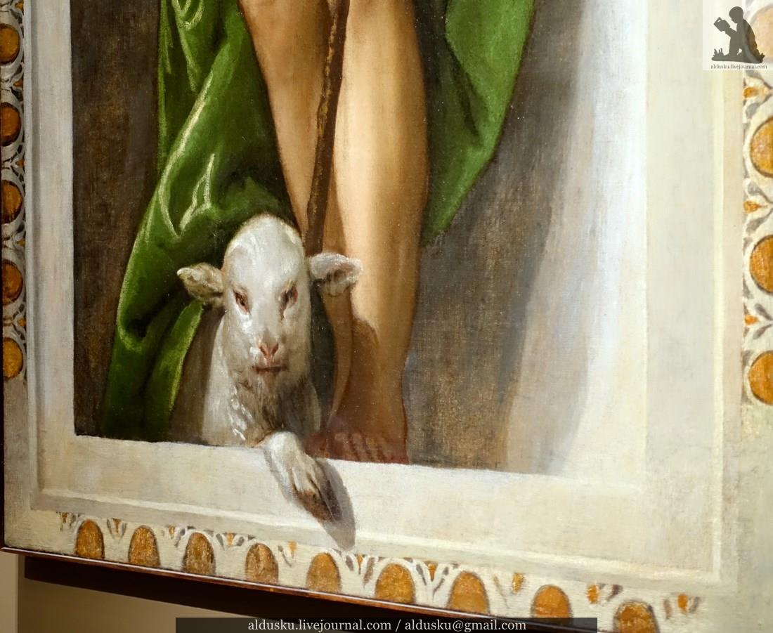 ПАОЛО КАЛЬЯРИ, прозванный ВЕРОНЕЗЕ (около 1528–1588). Святой Иоанн Креститель. Святой Мина. 1558–1561