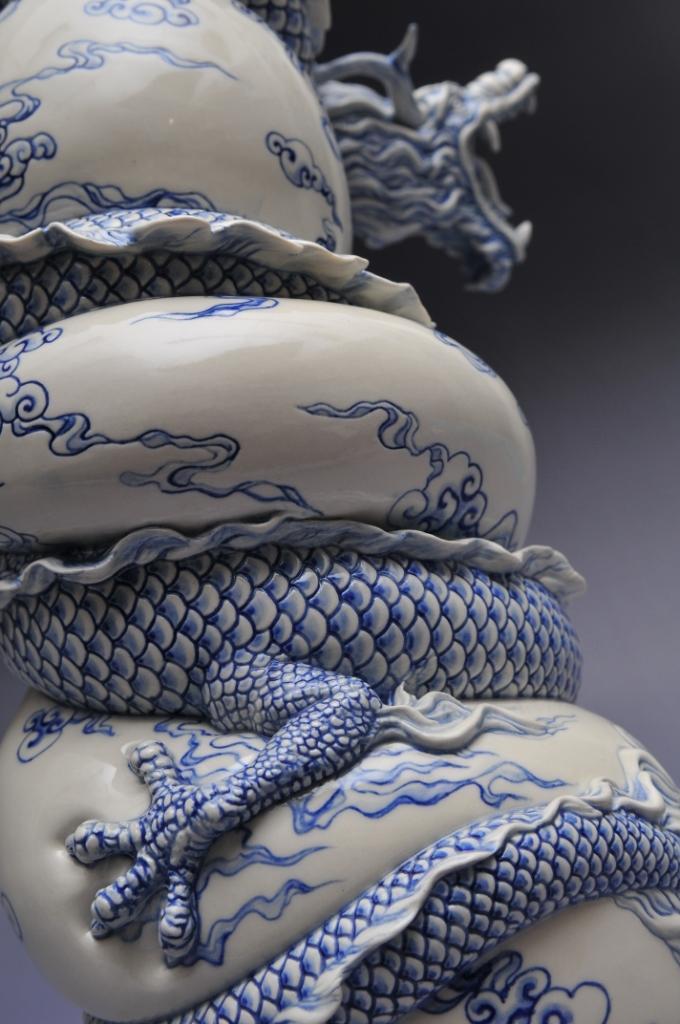 A Dragon Teapot by Johnson Tsang