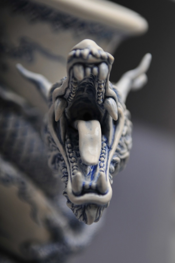 A Dragon Teapot by Johnson Tsang