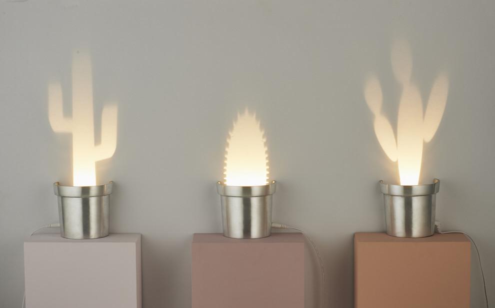 Cute Cactus Lamps by Chen Bikovski