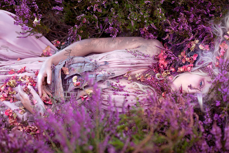Gammelyn's Daughter a Waking Dream © Kirsty Mitchell