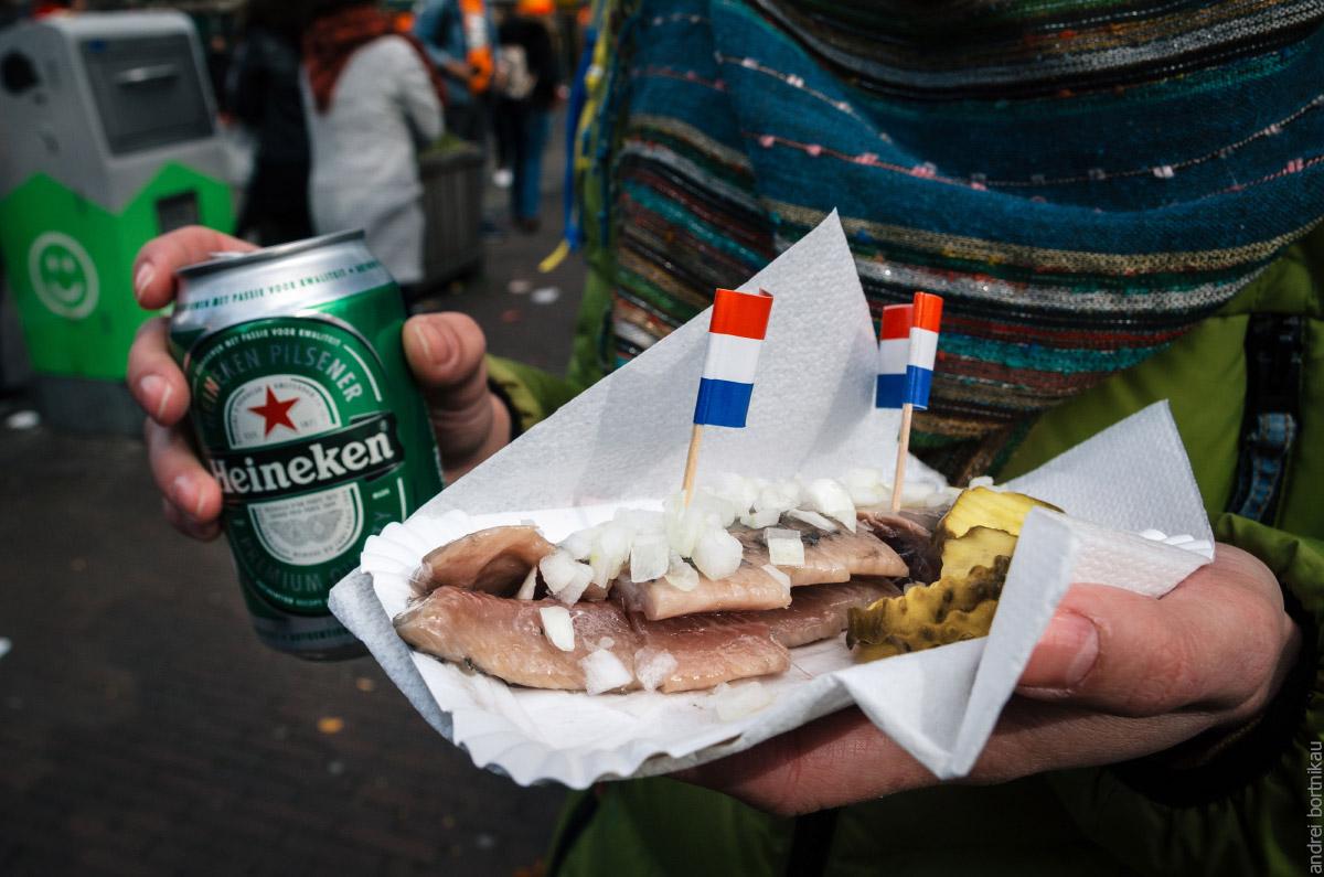Голландская селедка