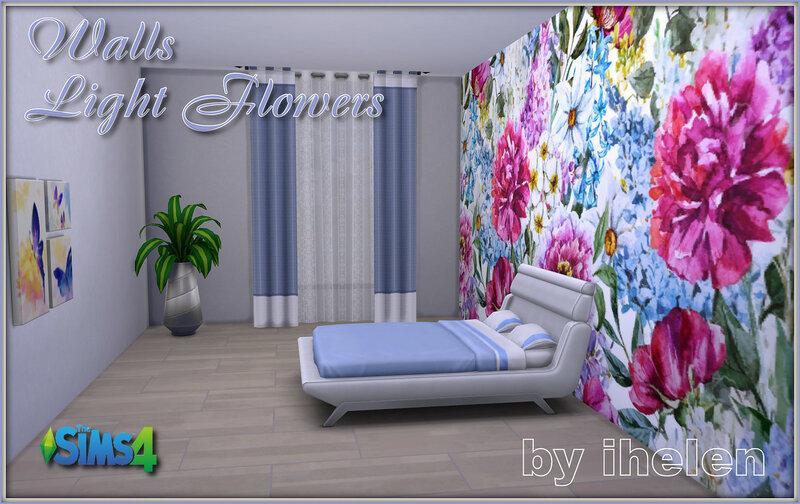 Walls Light Flowers by ihelen