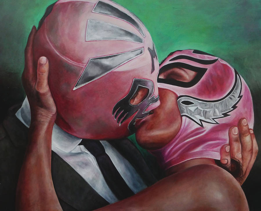 Masked People Alternative Paintings (10 pics)