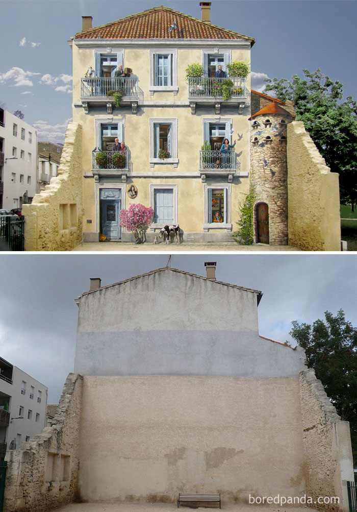 15 vezes que a street art transformou lugares (15 pics)