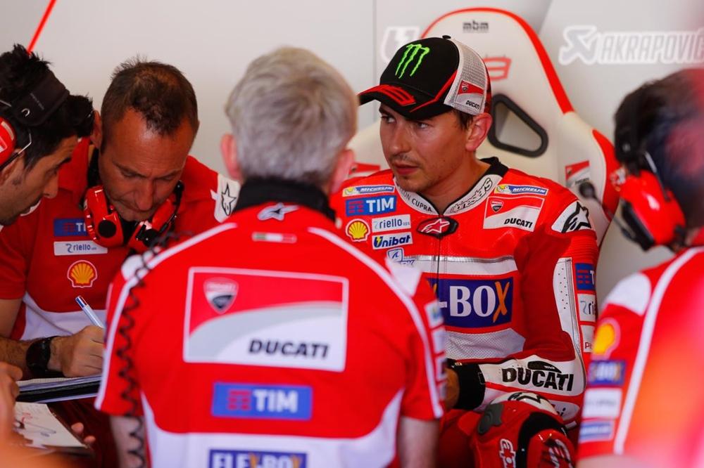 Лоренцо: «Я начинаю чувствовать, что Ducati - мой мотоцикл»