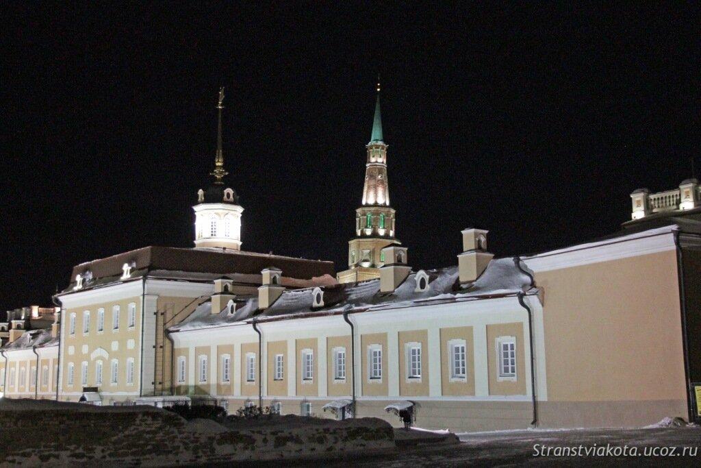 Казанский кремль, башня Сююмбике