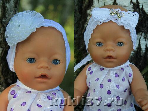 налобная повязка для куклы