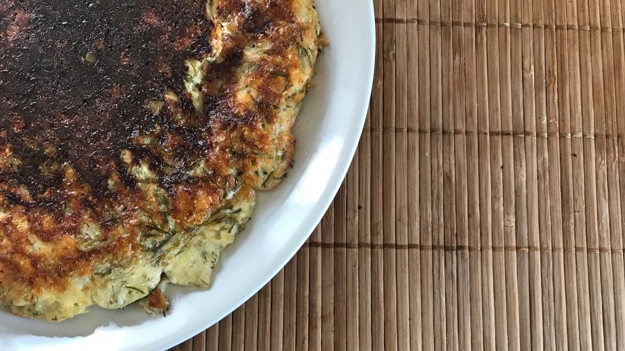 Хачапури на сковороде. Омлет с грузинским акцентом.