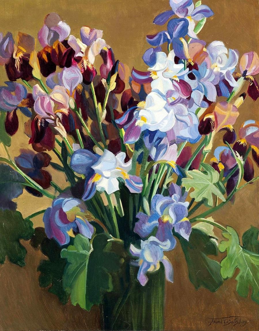 Francis Owen Salisbury, 1874-1962 Ирисы (Irises) Частное собрание.jpg