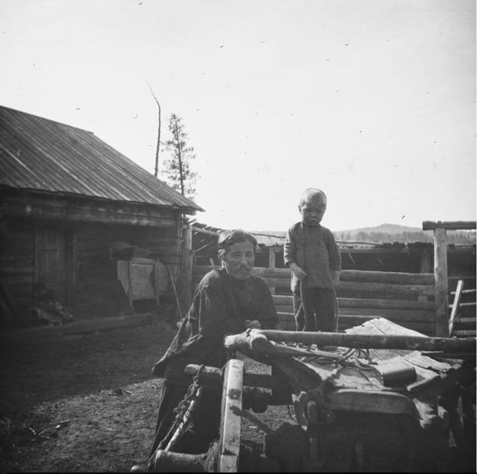Тарантас и Кешка
