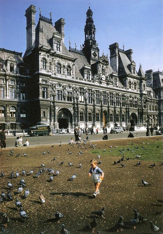 1955. Площадь Отель-де-Виль