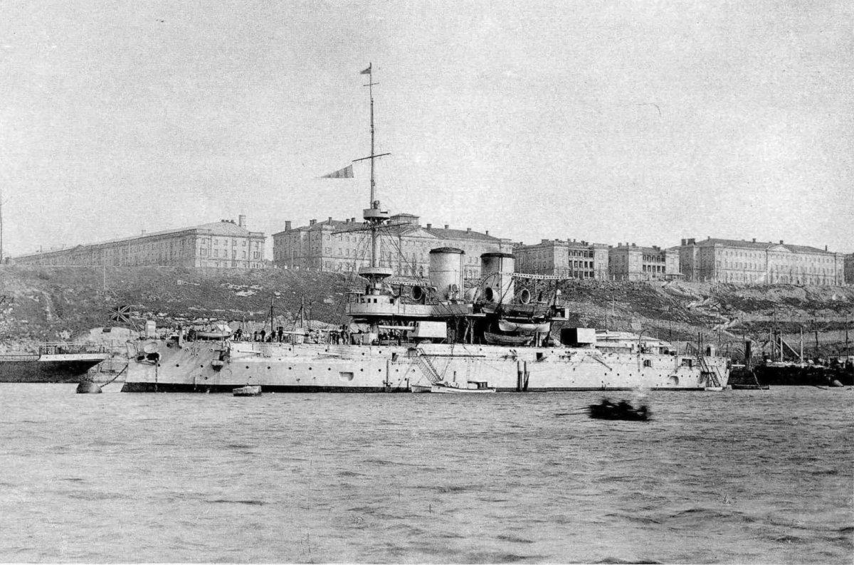 Линейный корабль Синоп в Южной бухте. 1916
