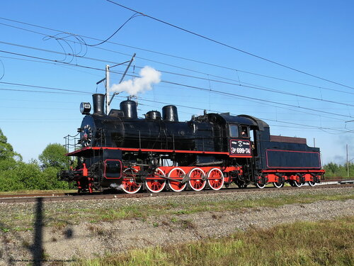 паровоз Эу-699-74 _240