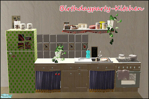 Birthdayparty - Kitchen by steffor
