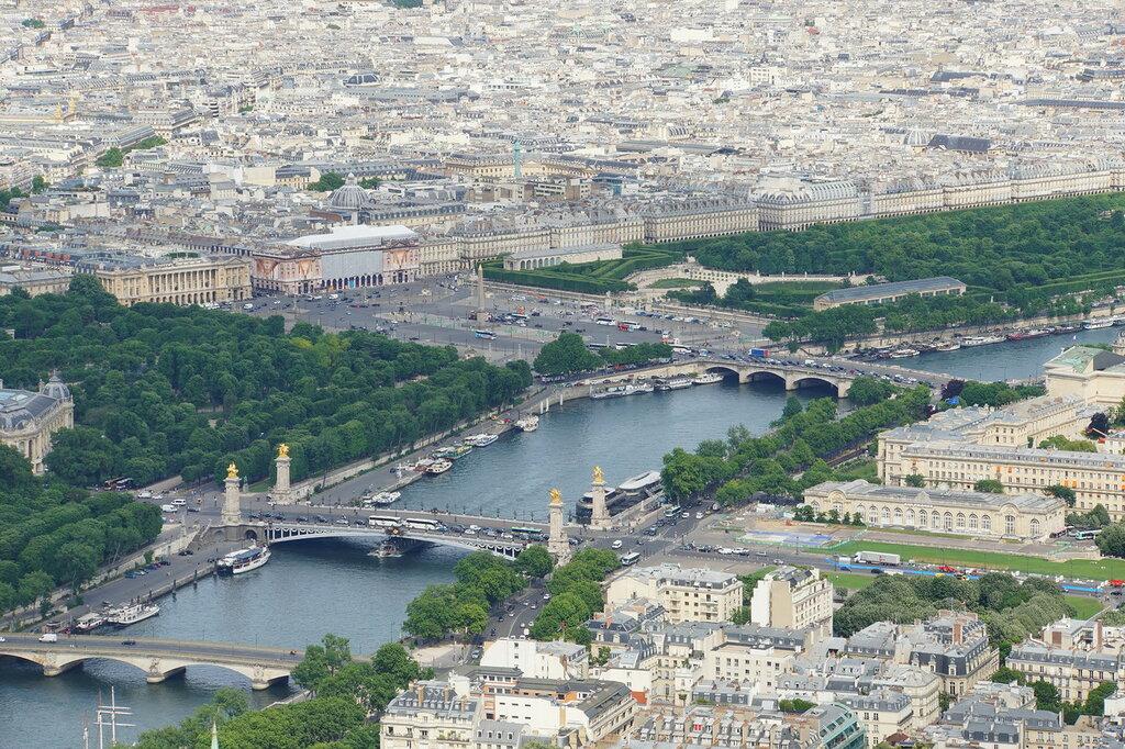 Площадь Согласия - сердце Парижа