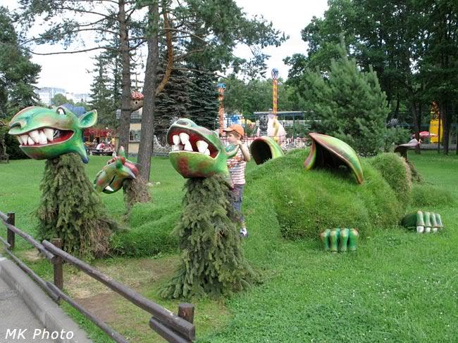 Зелёный дракон на Крестовском острове