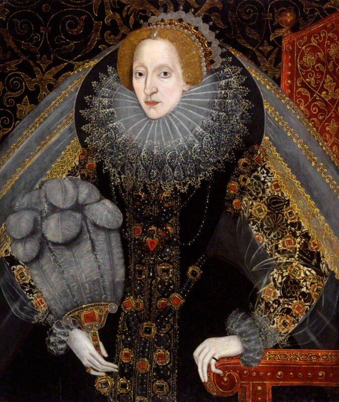 'ювелирные изделия' Национальная Портретная Галерея, Лондон. часть 1