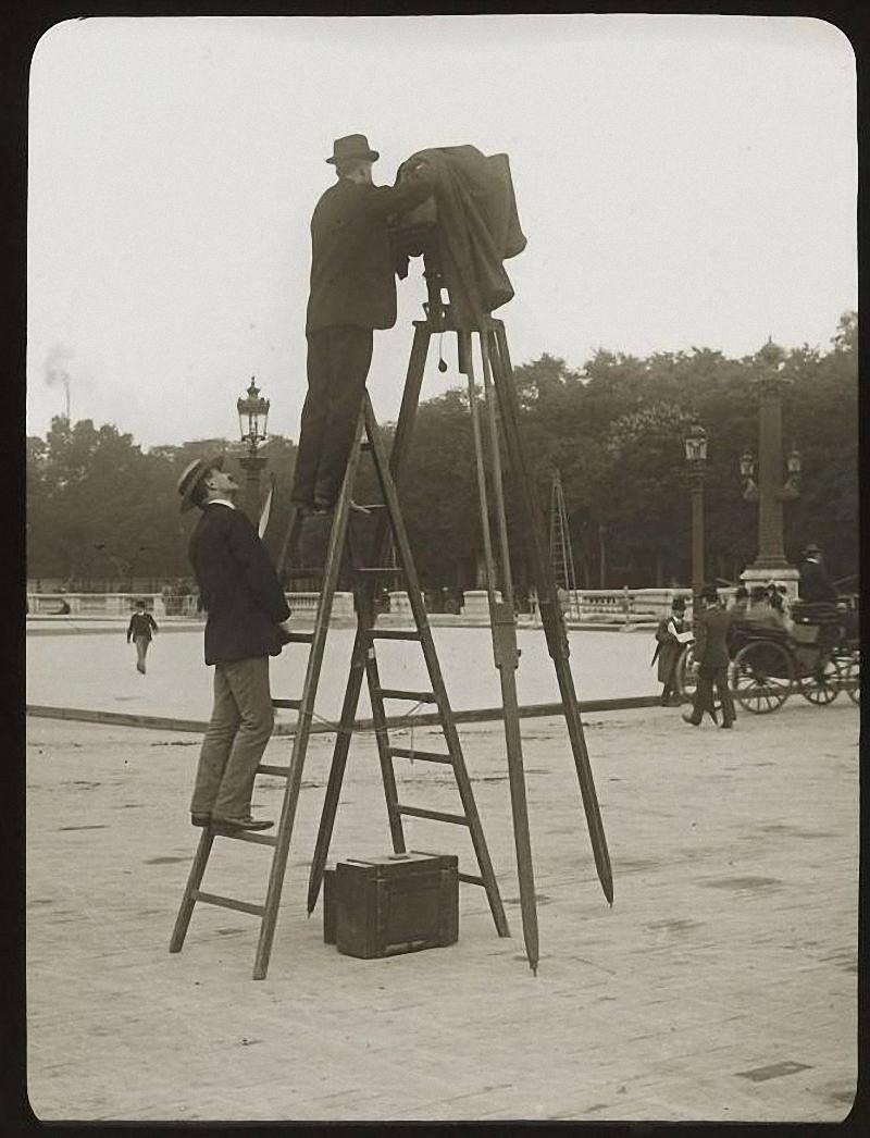 Парижские фотографы разных лет