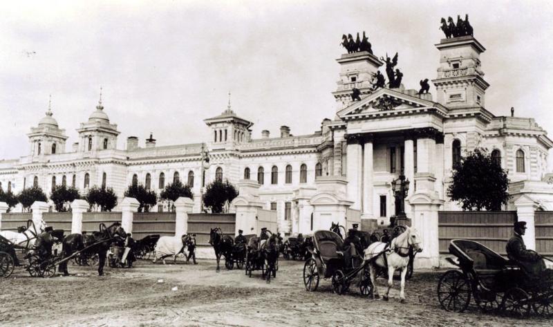 Московский ипподром, 1909 год