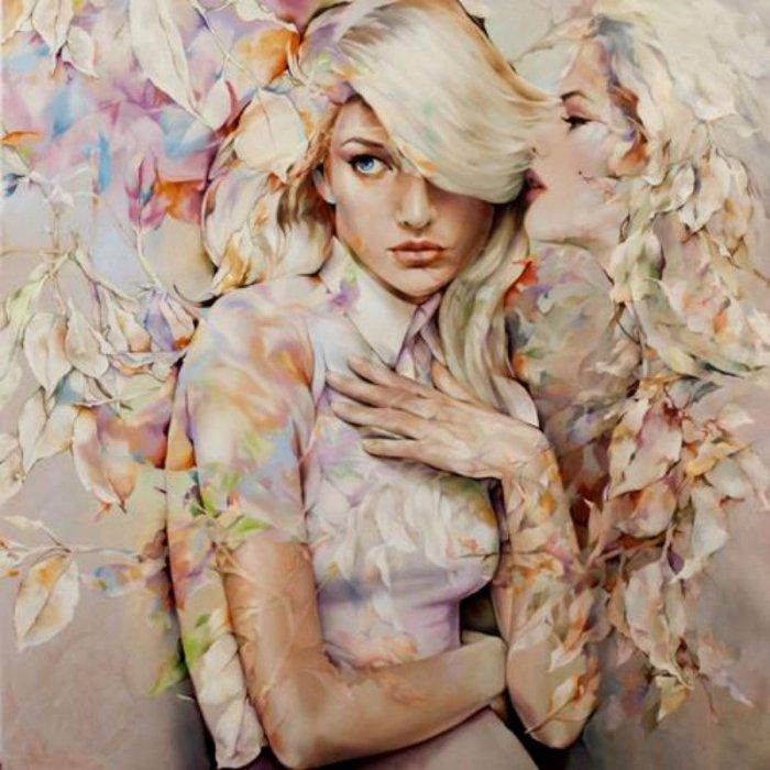Картины китайской художницы Венди Энджи / Wendy Ng