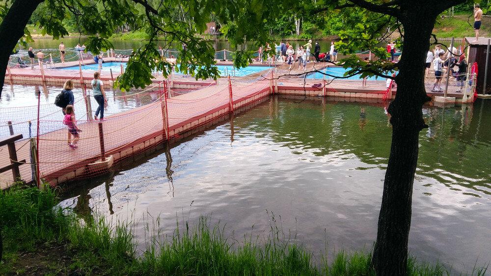 Бассейн в Тропарево