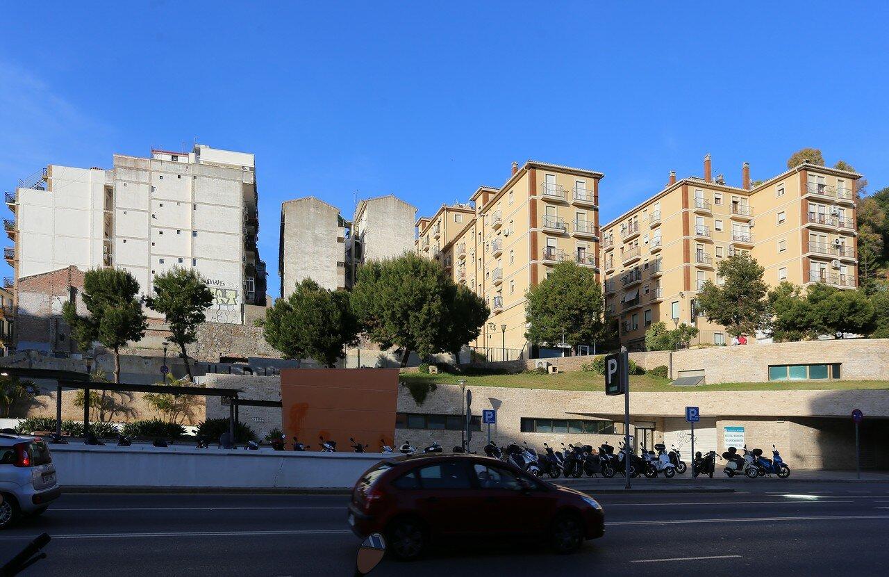 Малага. Улица Санта-Ана (Calle Santa Ana)