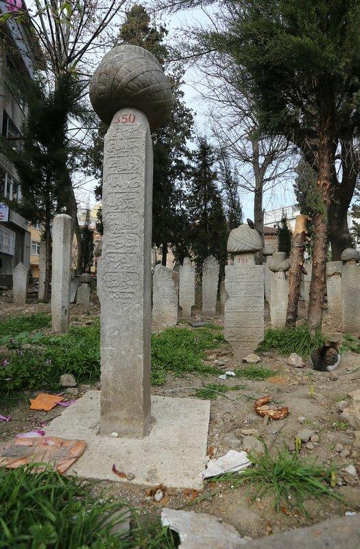 Istanbul. Sheikh Devati Cemetery (Şeyh Devati Mezarlık)