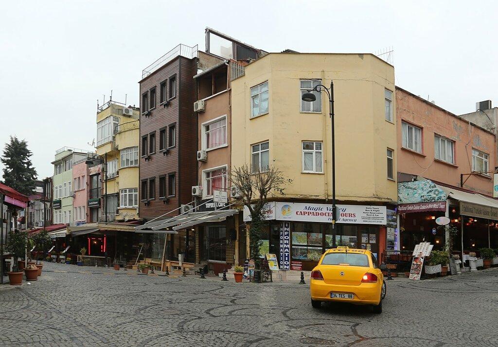 Стамбул. Улица Акбыик (Akbıyık Caddesi)