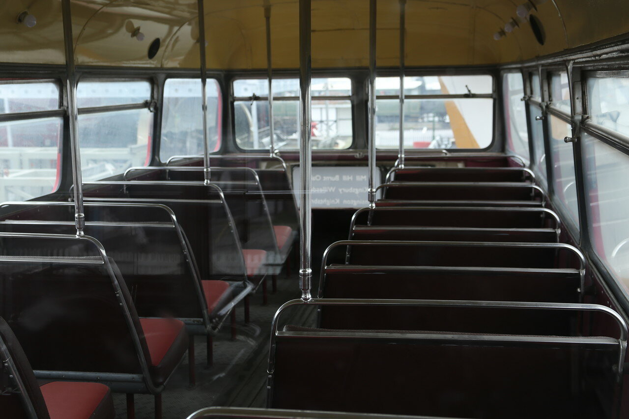 Стамбул. Музей Рахими Коча. Автобус AEC Routemaster
