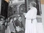 Первая встреча будущих учеников воскресной школы в Сретенском храме в Новой Деревне. 1990