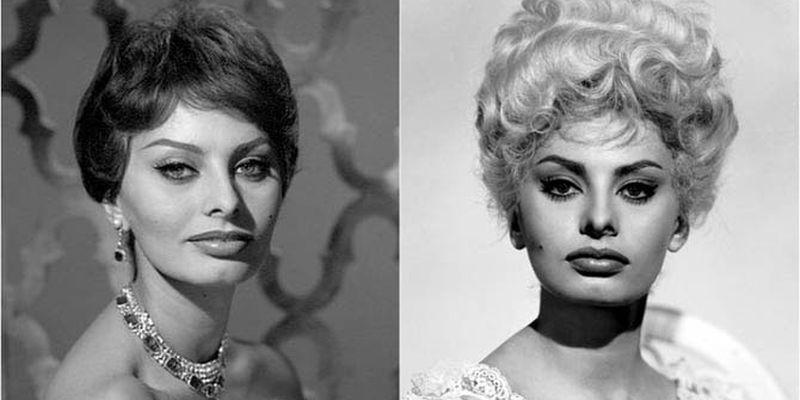 Знаменитые красотки, побывавшие в роли блондинок и брюнеток  (9 фото)