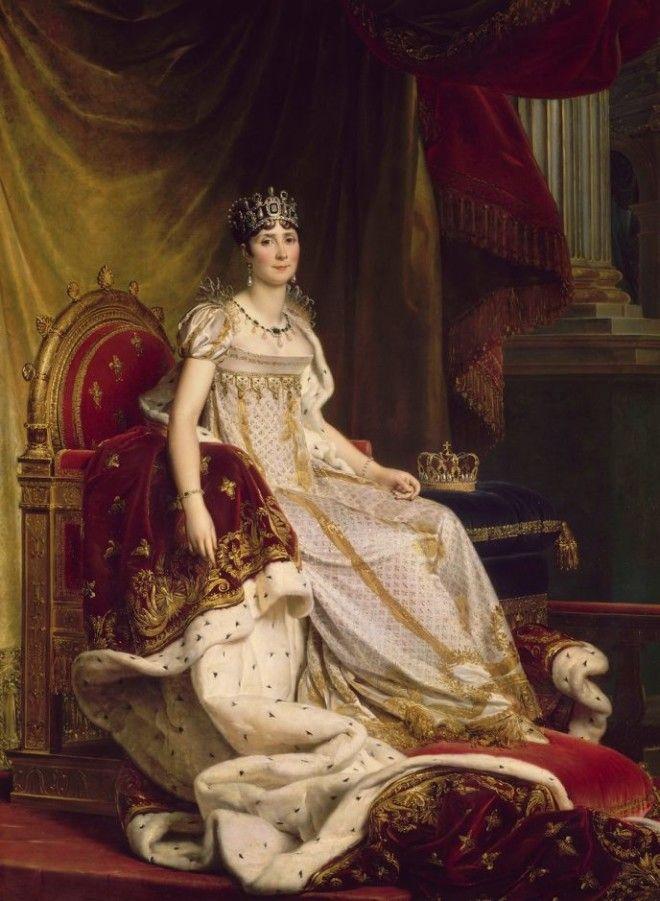 Всю жизнь Наполеон Бонапарт остался верен своей Жозефине, хотя она и не была писанной красавицей. В