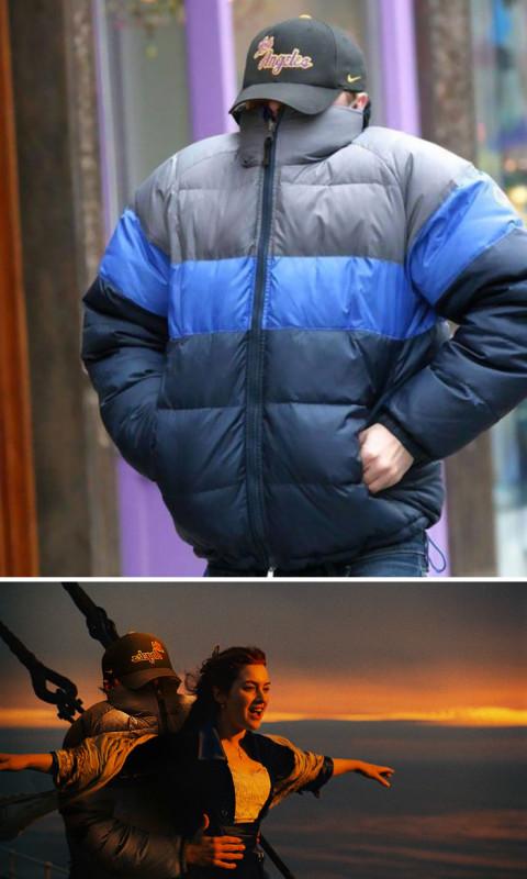 Леонардо Ди Каприо скрывается от папарацци.