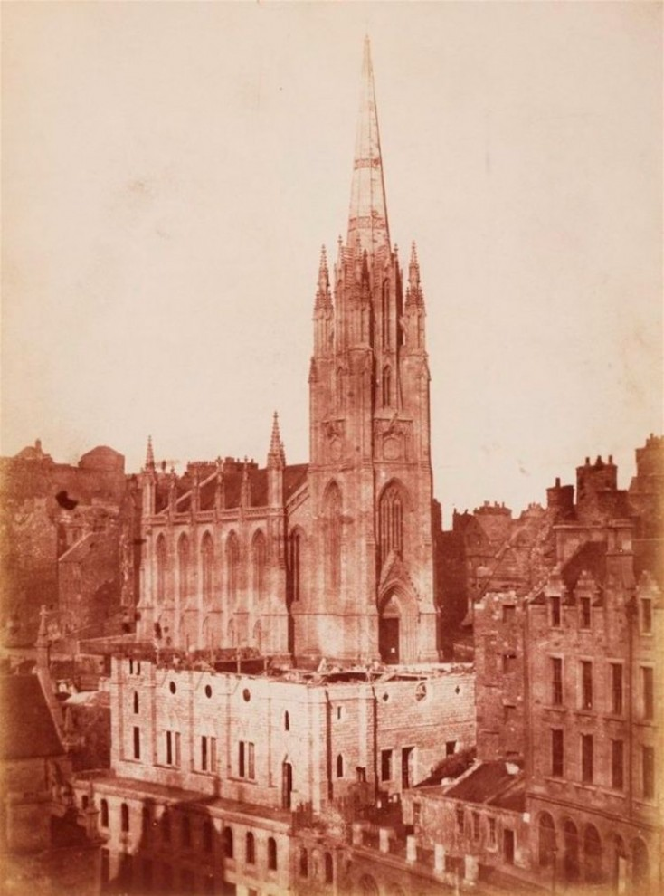 В 1855 году фотограф Роберт Хант (Robert Hunt) создал серию фотографий Сиднея.