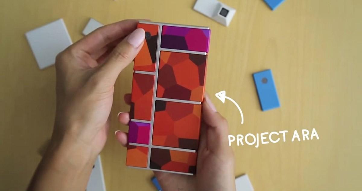 Project Ara — смартфон-конструктор от Google (18 фото)