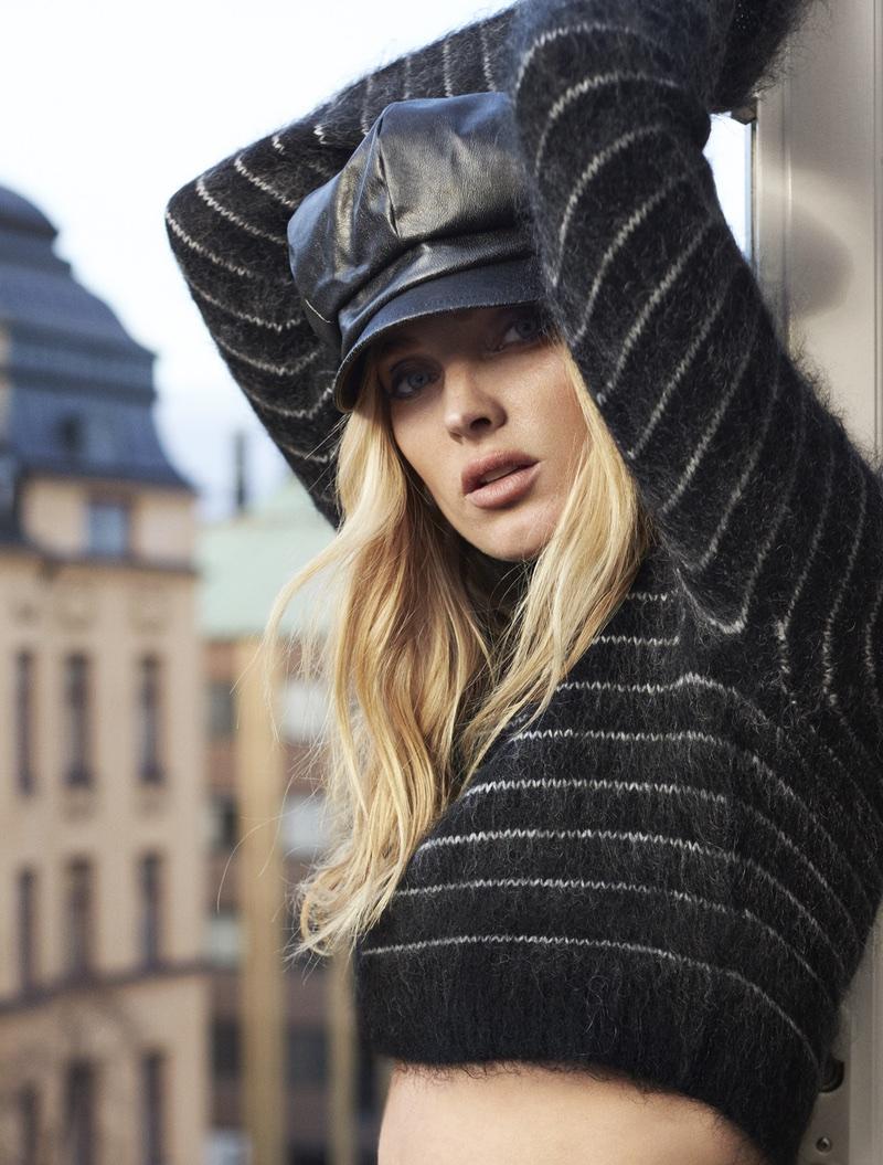 Эльза Хоск на обложке ELLE Sweden