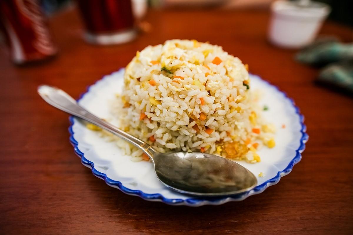 23. Рис с овощами. Рис в Тибете просто превосходный — и с овощами, и с мясом.