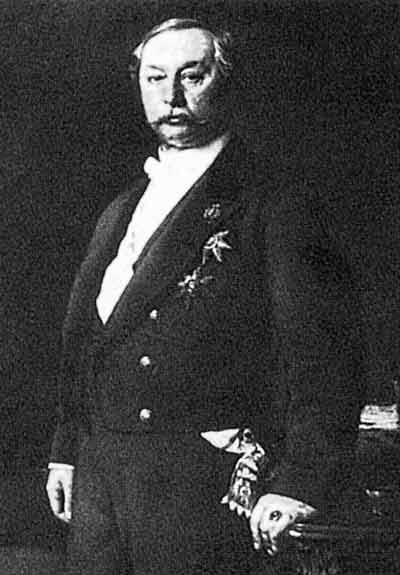 Посол России в Турции (1859-1863, 1878-1879), где ему удалось добиться подписания Константинопольского мирного договора (1879)