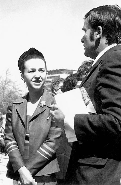 С Людмилой Живковой на Десятом съезде БКП. 1971 г.