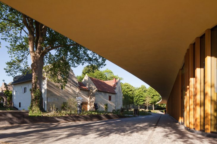St. Gerlach Pavilion and Manor Farm by Mecanoo