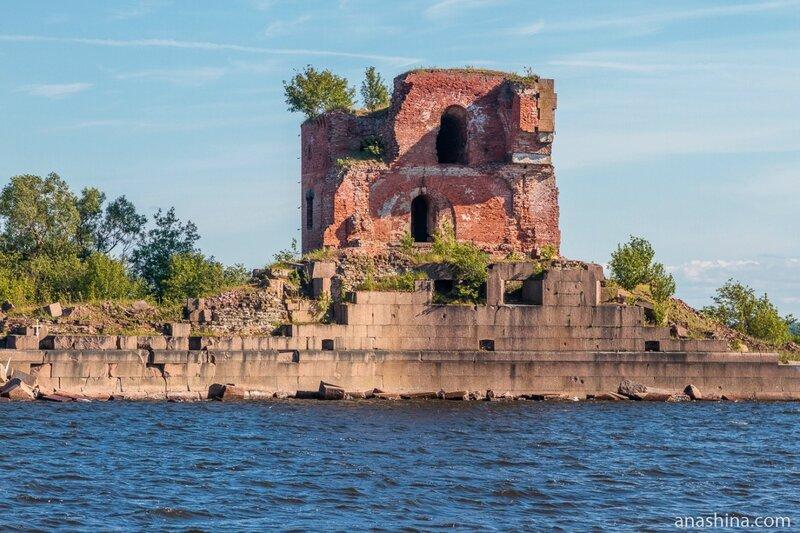 Форт «Император Павел I» («Рисбанк»), Кронштадт