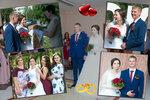 Свадебный фото коллаж